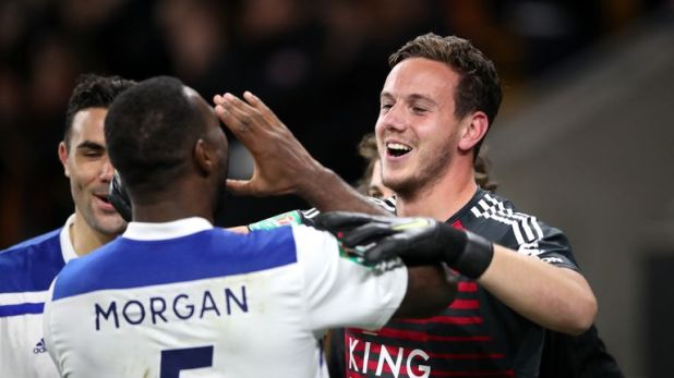 Danny Ward saved three penalties as Leicester progressed to the fourth round of the Carabao Cup