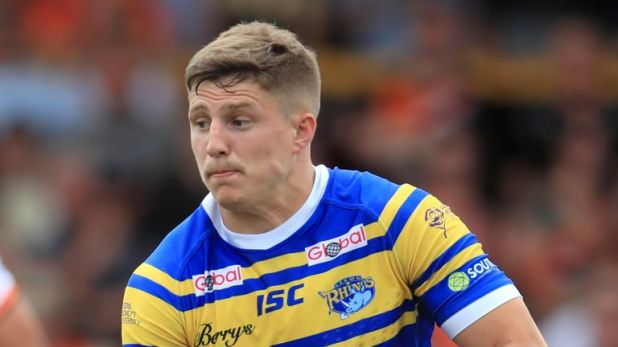 Liam Sutcliffe secured victory for Leeds Rhinos in the Qualifiers