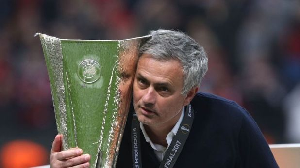 Mourinho won the Europa League in his first season in charge