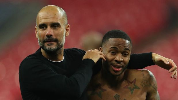 Pep Guardiola has been keen to secure the long-term future of Raheem Sterling