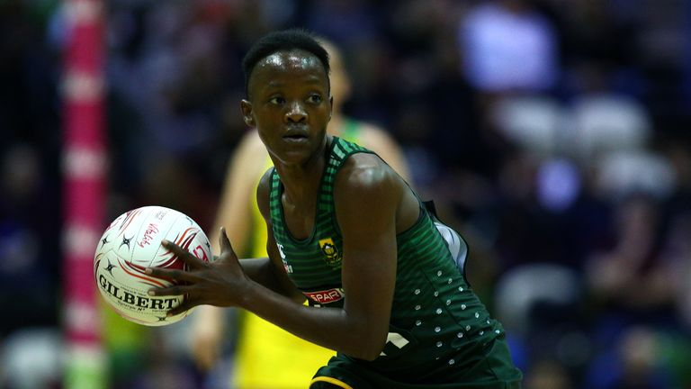South Africa's Bongiwe Msomi is a familiar face to Superleague fans