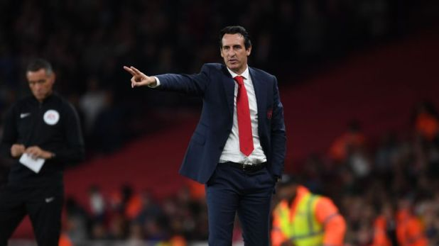 Arsenal head coach Unai Emery saw his side beat Brentford 3-1