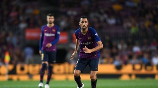Sergio Busquets is the only current Barcelona player in Spain's squad