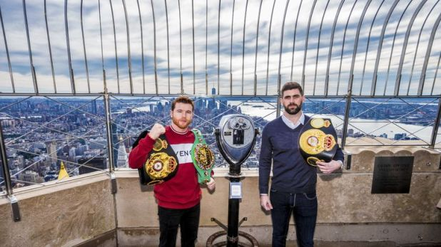 Rocky Fielding meets Saul Alvarez in New York