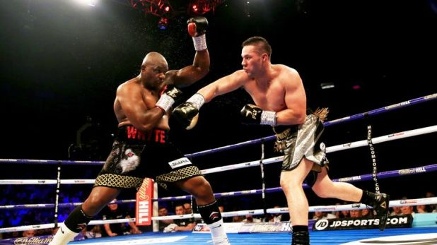 The 26-year-old suffered a points loss to Dillian Whyte in the summer