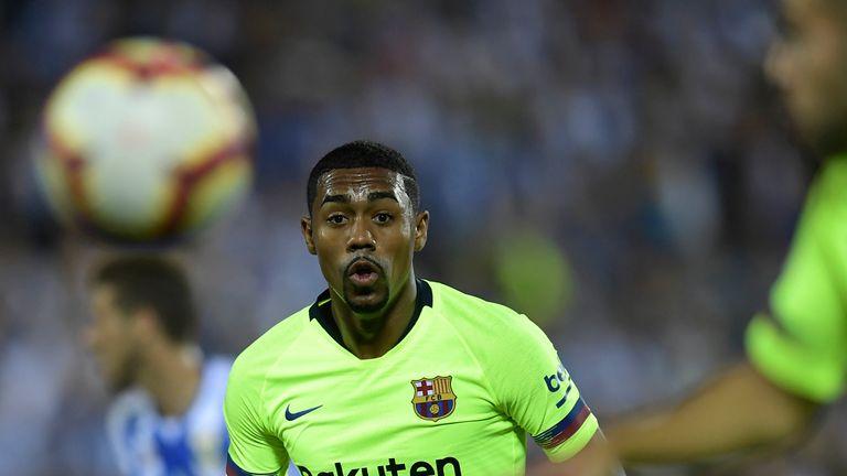 Malcom has struggled to make an impact at Barcelona
