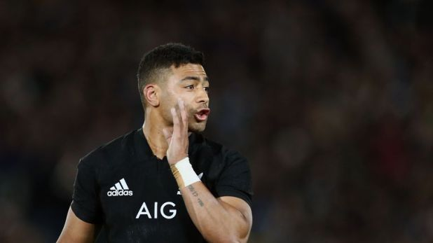 Mo'unga has scored 52 points in nine Tests for New Zealand