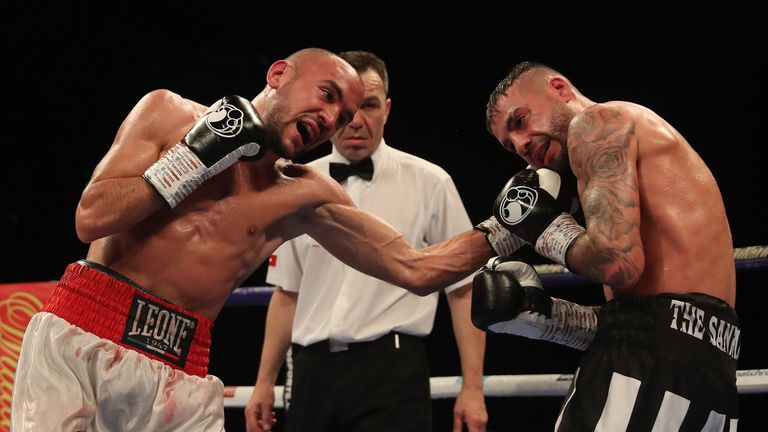 Patera gets the better of Ritson in Newcastle