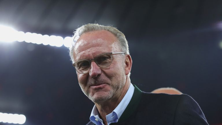 Karl-Heinz Rummenigge refused to accept German media's recent reporting on Bayern players