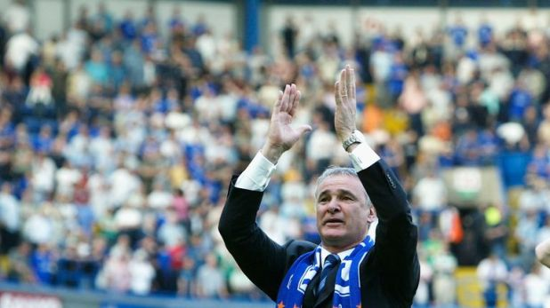 Ranieri left Chelsea in 2004, replaced by Jose Mourinho