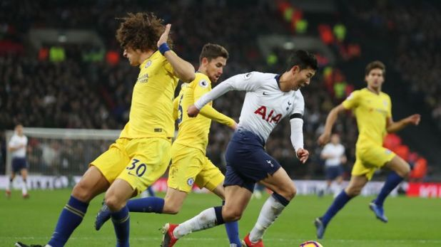 Chelsea and Tottenham will meet across two legs in the Carabao Cup semi-finals