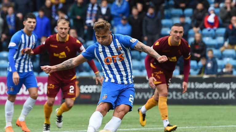 Brophy joined Kilmarnock in 2017 from Hamilton