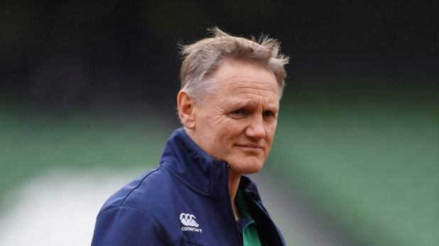 Joe Schmidt is from New Zealand and is yet to commit his future to Ireland beyond next year's World Cup