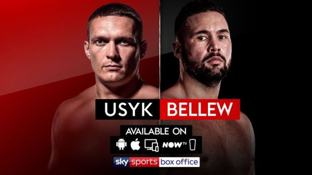 There are multiple platforms showing the Sky Sports Box Office event
