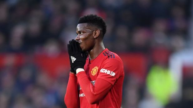 Pogba has been dropped to the bench for the last two matches