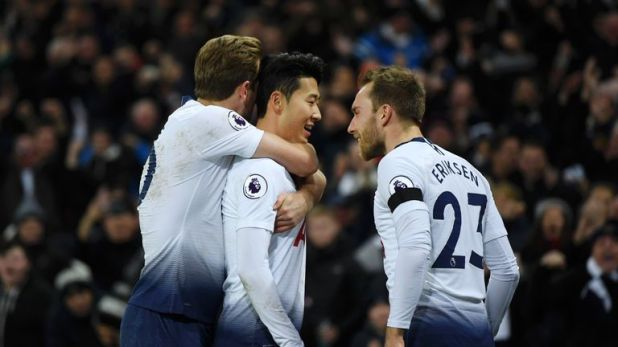 Tottenham beat Chelsea 3-1 last weekend