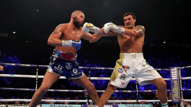 Bellew made a bright start but Usyk's class shone through