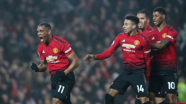 Anthony Martial has been one of Manchester United's top performers this season