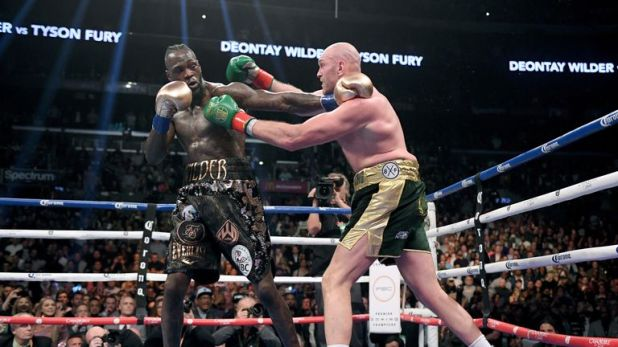 Wilder was frustrated by Fury in the early rounds