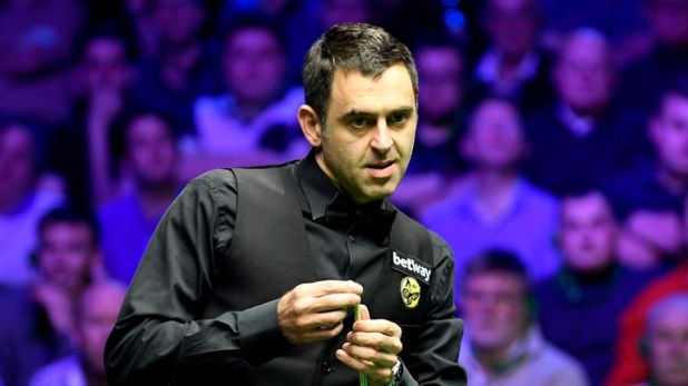 Ronnie O'Sullivan will take on amateur James Cahill at the World Snooker Championship