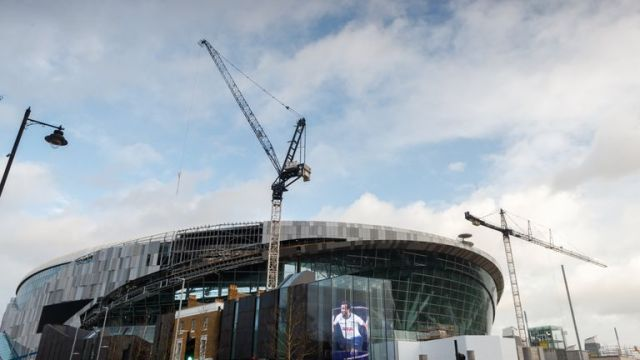 The opening of Tottenham's new stadium has been delayed