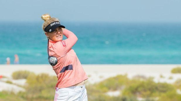 Charley Hull made a superb start in Abu Dhabi