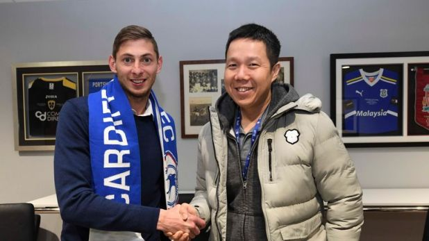 Emiliano Sala died in a plane crash after signing for Cardiff City