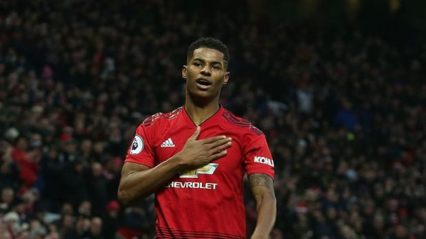 Rashford now has eight in his last 10 United games