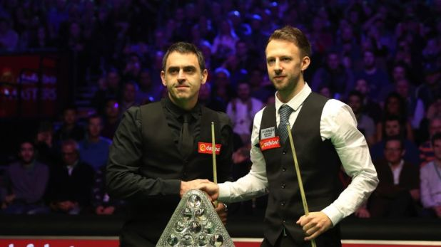 Ronnie O'Sullivan and Trump fought out the final in London