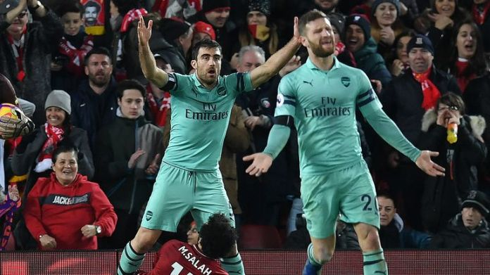 No team in the upper half has suffered more goals than Arsenal
