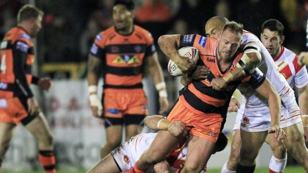Liam Watts is in a rich vein of form for Castleford this season