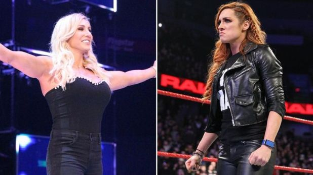 Charlotte Flair has replaced Becky Lynch in the WrestleMania match against Ronda Rousey as a result of the Irish star's 60-day suspension