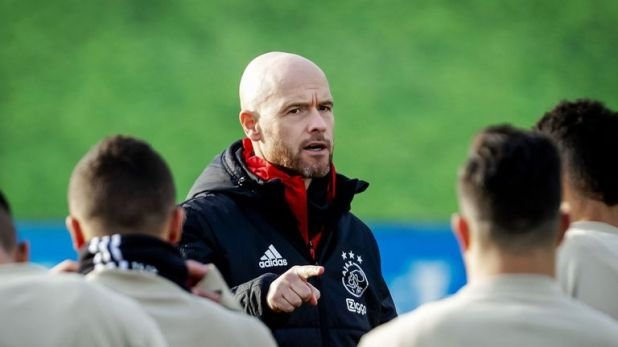 Erik Ten Hag has led Ajax to the last 16 of the Champions League after last reaching the same stage in 2006