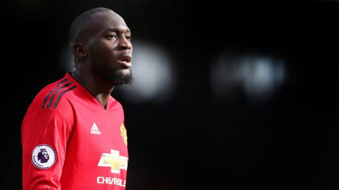 Romelu Lukaku remains sidelined with a foot injury