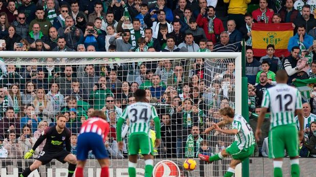Canales put Betis ahead from the spot