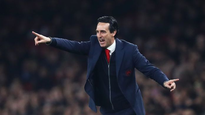Unai Emery's Arsenal faces Newcastle in the match on Monday night
