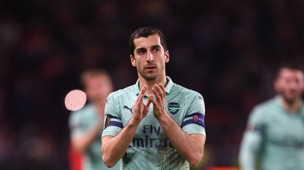 Arsenal midfielder Henrikh Mkhitaryan will not travel with the club to Baku