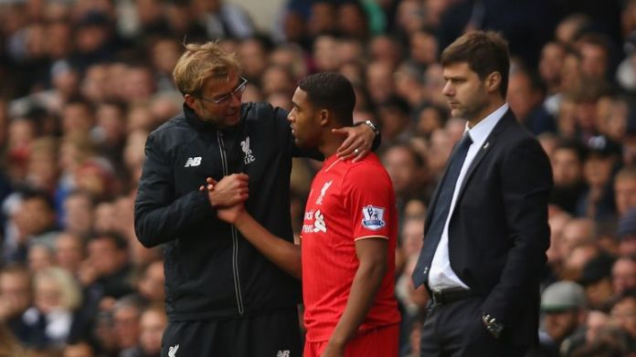 Jordon Ibe was a replacement for the second half, but was sold to Bournemouth