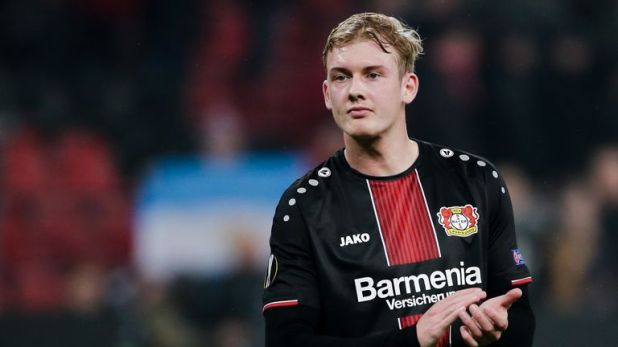 Julian Brandt is thought to favour a move to Borussia Dortmund this summer