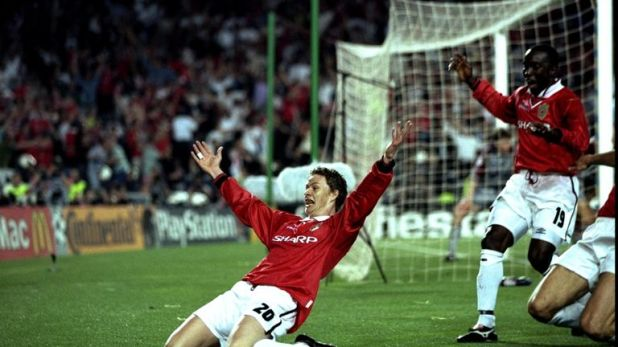 Ole Gunnar Solskjaer returns to the Nou Camp on Tuesday evening - the scene of his finest moment for Manchester United as a player