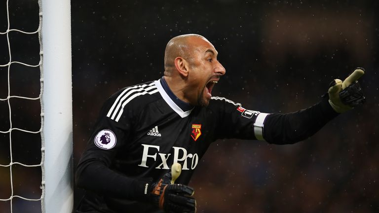 Heurelho Gomes is hoping to retire from football having helped the Hornets to FA Cup and European success