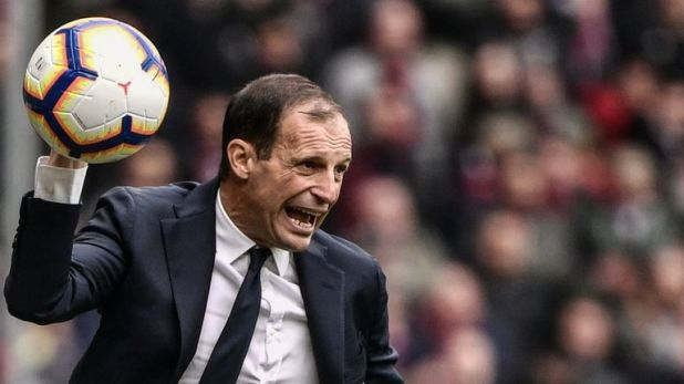 Massimiliano Allegri is wary of Ajax's threat ahead of Tuesday's Champions League quarter-final second leg