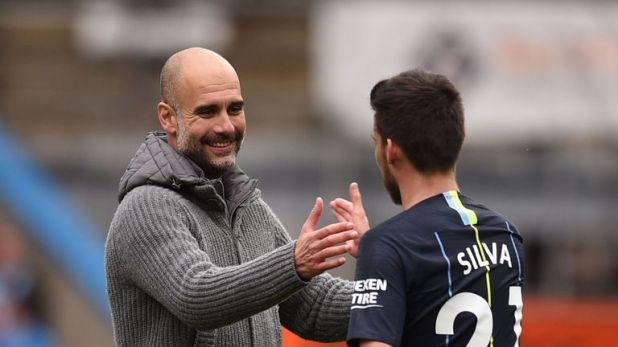 Pep Guardiola has hailed David Silva