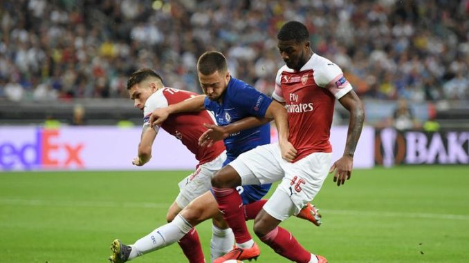 Eden Hazard was the star of the show for Chelsea as they beat Arsenal