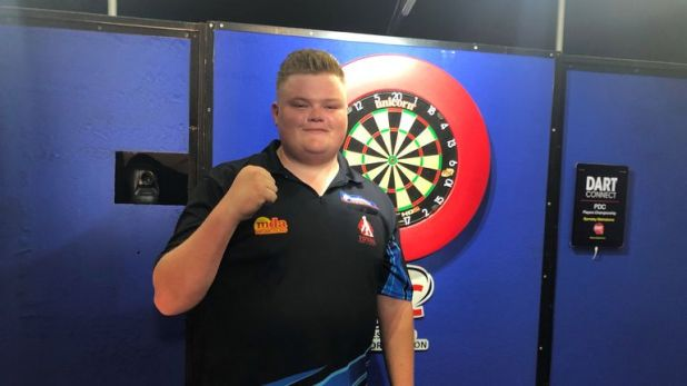 Harry Ward beat Max Hopp for a memorable first PDC title