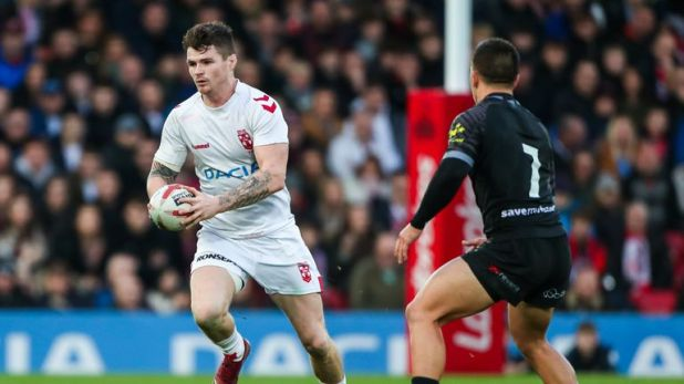 John Bateman hopes to be playing international rugby league for Great Britain this year