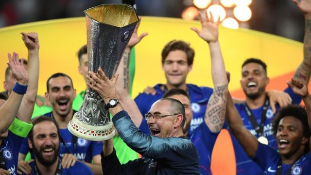Chelsea won the Europa League in the 2018/19 season
