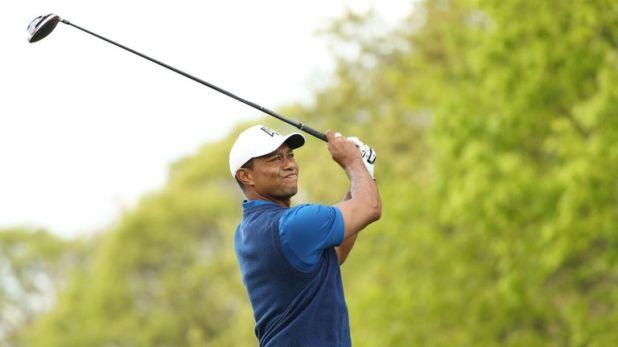 Woods ended his round nine behind Koepka