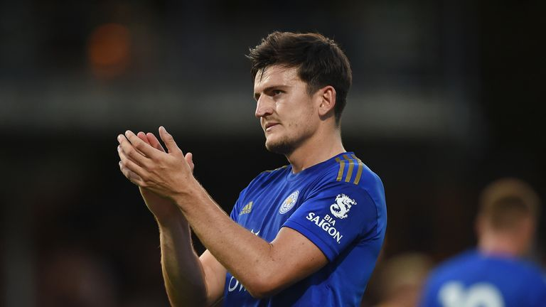 Harry Maguire is closing in on a move to Manchester United