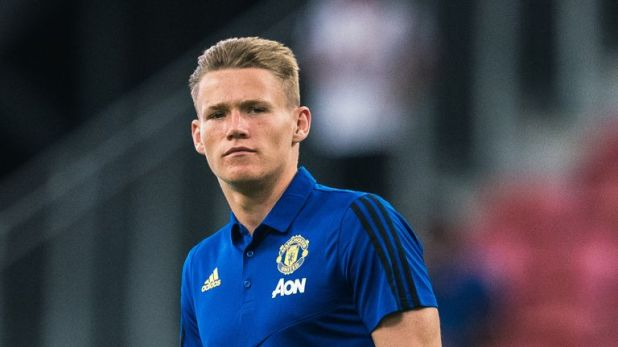 Scott McTominay is aiming to be Manchester United's main midfield man this season